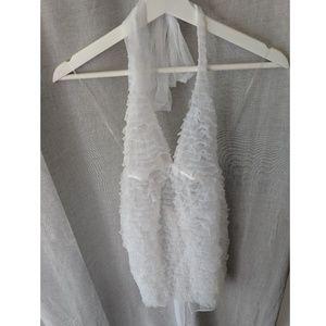 NWOT Victoria's Secret Sheer Lace Bridal Lingerie